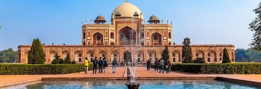Découvrir les charmes de l'Inde