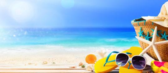 vacance ensoleillée
